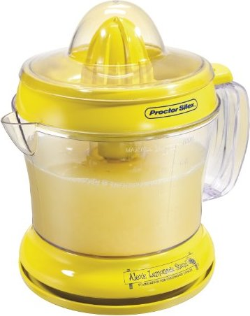 Proctor Silex 66331 Alex's Lemonade Stand Citrus Juicer,