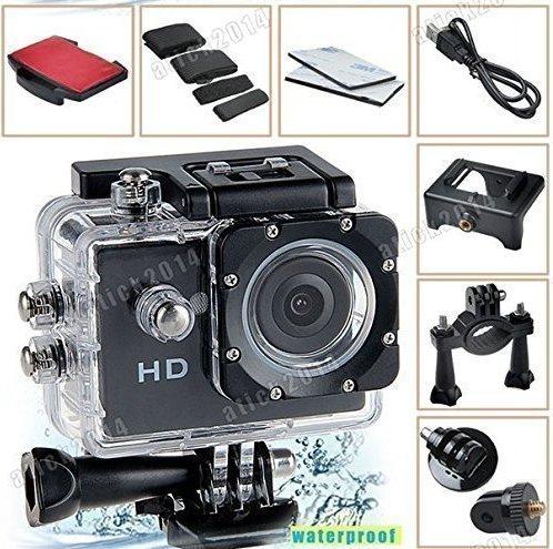 Mini Shoockproof Waterproof Cameras 1080p HD Video and