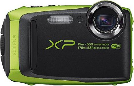 Fujifilm FinePix XP90 Green Waterproof digital camera (Black/Green)